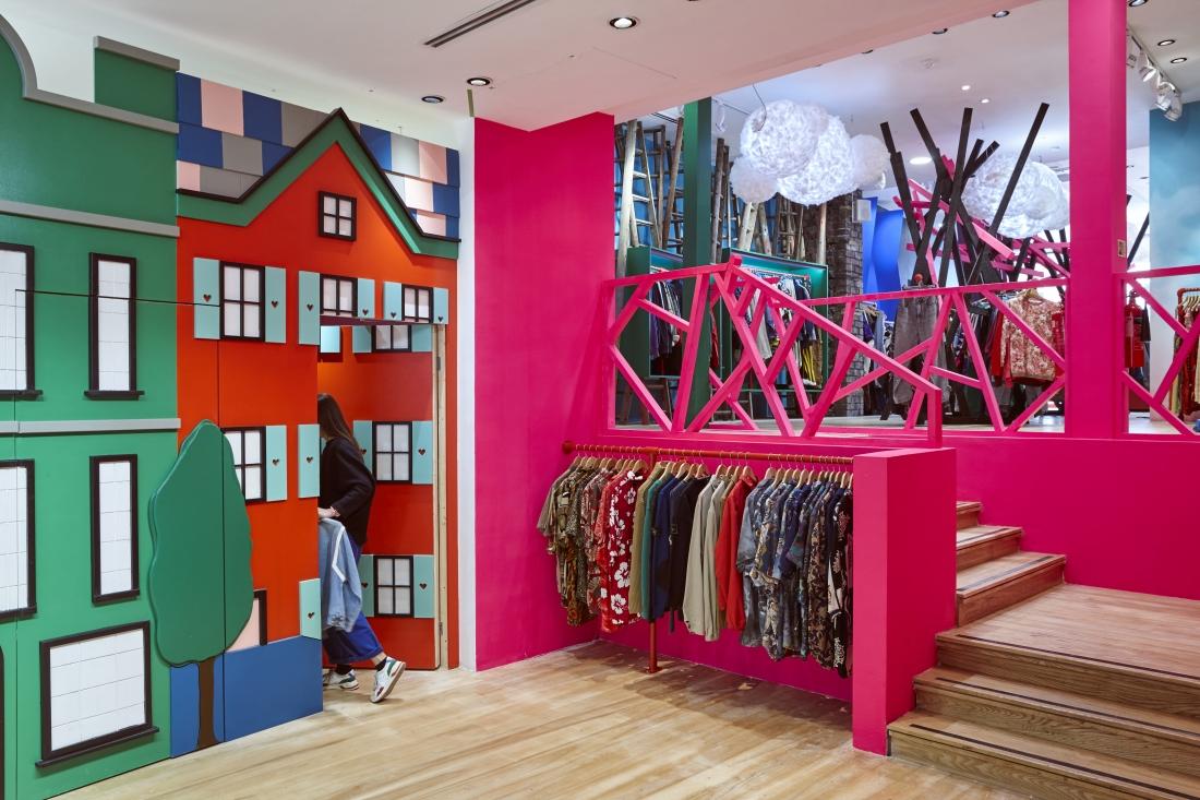 La marca independiente COW inaugura su tienda más grande hasta el momento. FOTO: Material Source
