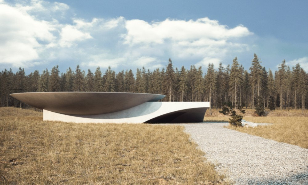 Underground House Plan B, the ideal place to wait for the end of the world. PHOTO: mahno.com