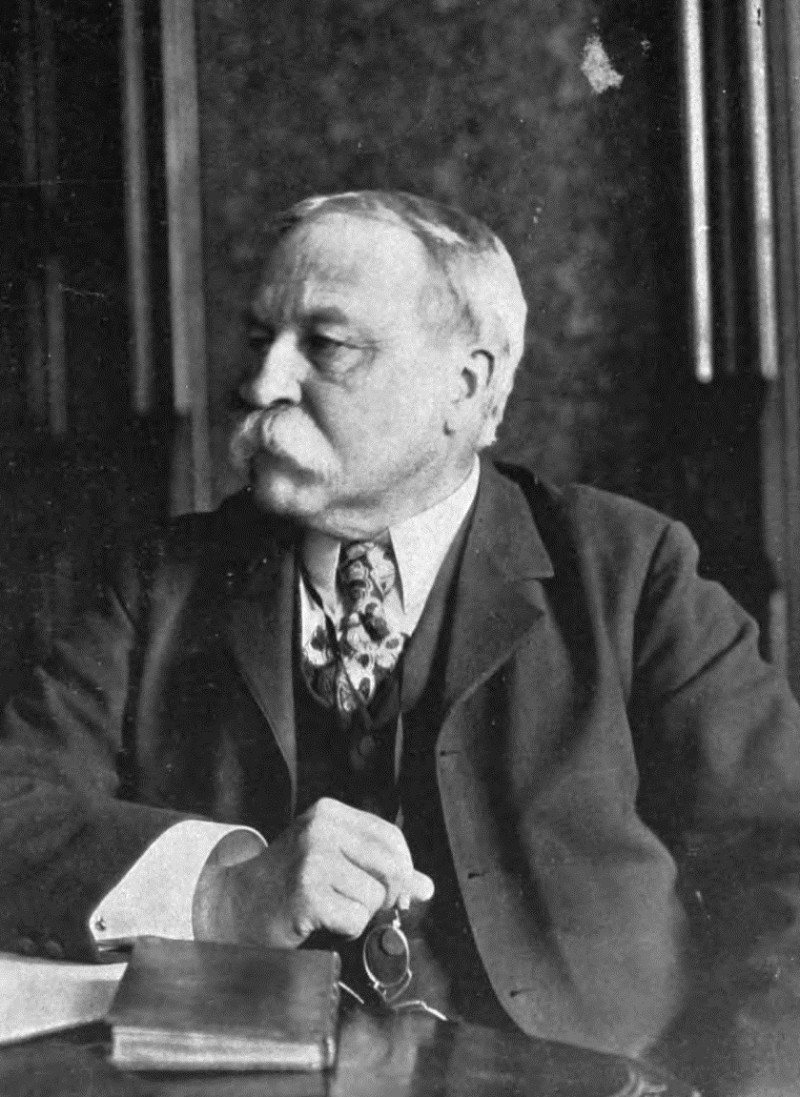 William Dean Howells y el realismo americano. FOTO: Wikimedia Commons