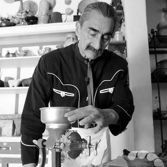 מורשתו של יורי דה גורטארי, חוקר המטבח המקסיקני. תמונה: בית הספר לפייסבוק לגסטרונומיה מקסיקנית