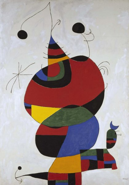 Mujer, pájaro, estrella (Homenaje a Pablo Picasso) 1966-1973