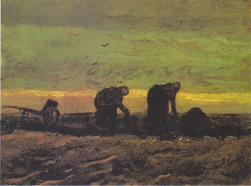 Dos mujeres en el páramo (1883)