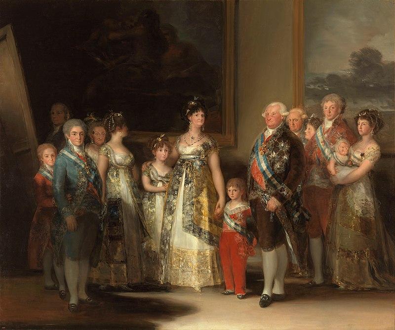 La familia de Carlos IV, 1800 (Museo del Prado)