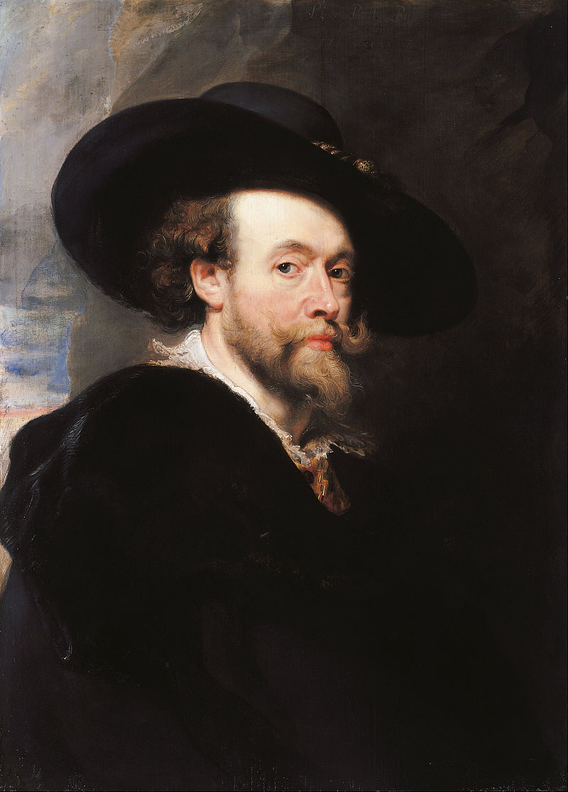 Autorretrato, 1623. Royal Collection