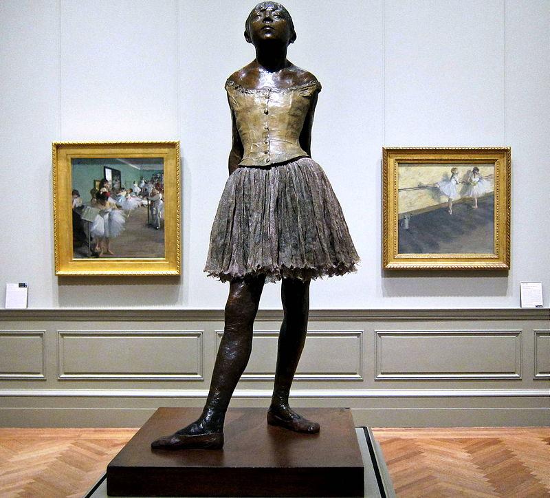 equeña bailarina de catorce años, fundida en 1922.Museo de Arte Metropolitano,Nueva York