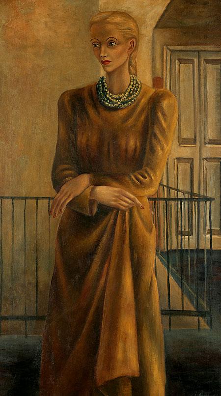 Retrato de Elena Garro.