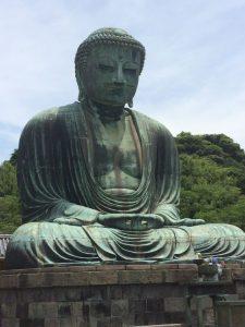 Grote Boeddha van Kamakura. Foto van pinterest.com