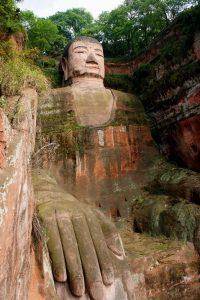 Grote Boeddha van Leshan. Foto van pinterest.com