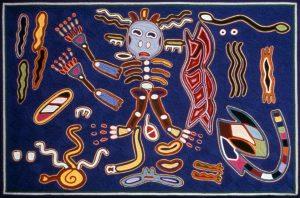 Huichol-kunstenaars. Foto door: wixarica.org