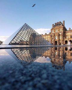Louvre. Foto de: pinterest.com