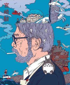 Studio Ghibli. Foto de: Pinterest.com