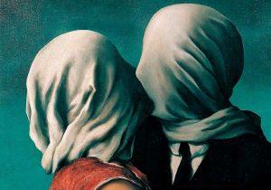 Csók a művészetben. Fotó: pinterest.com