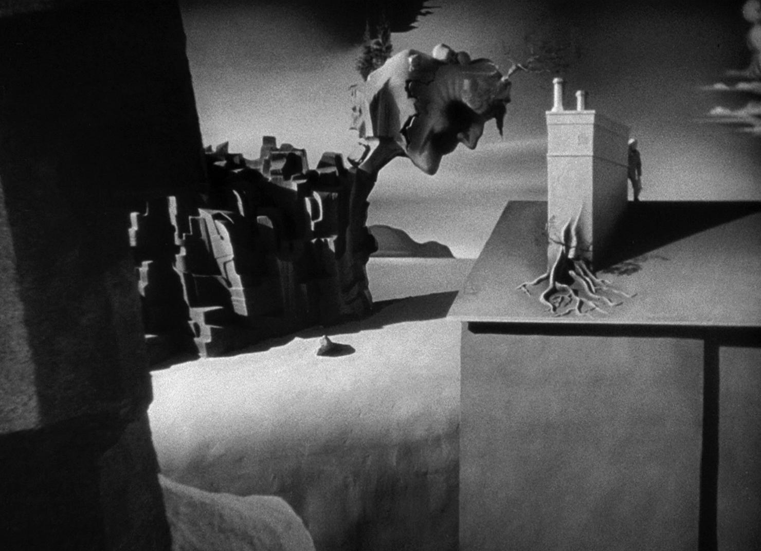 Fotograma en blanco y negro de la película 'Spellbound'