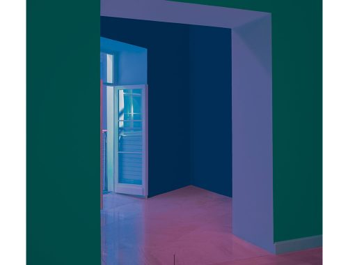 Arquitectura de colores capturada por Kamila Hanapova