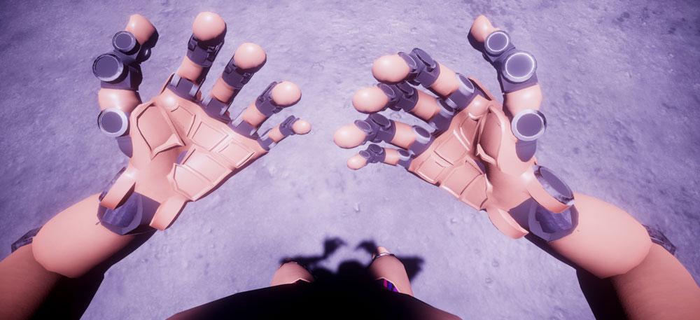 Robot rotuleaPatello rosea purpura manus.