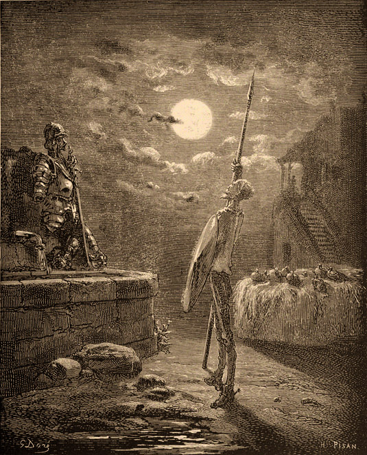 The Quixote illustrert av Gustave Doré