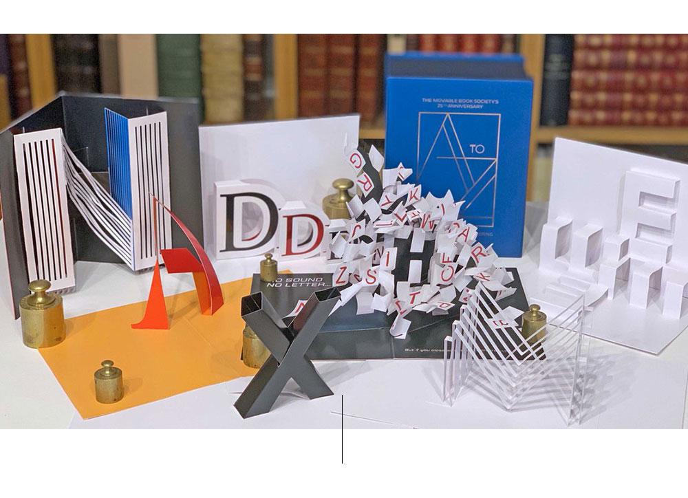 Formas de papel sobre mostrador