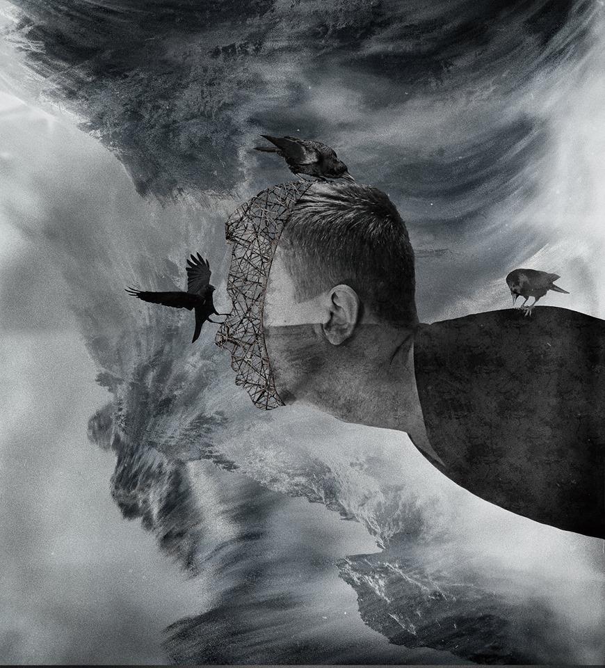Collage de imágenes digitales de Hubert Solczynski
