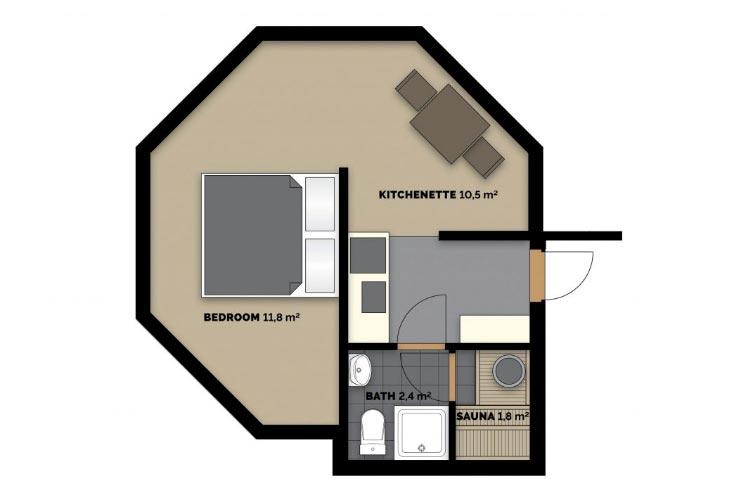 Imagen del plano arquitectónico de una casa.
