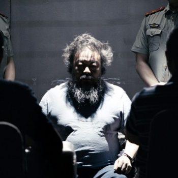 Portrett av kunstneren Ai Wei Wei