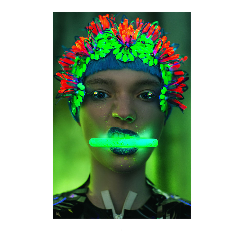 ¿Cyborgs o excéntricas modelos? por Ekaterina Belinskaya