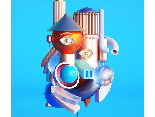 उमर की डिजिटल कला। पाब्लो पिकासो से प्रेरित अकील