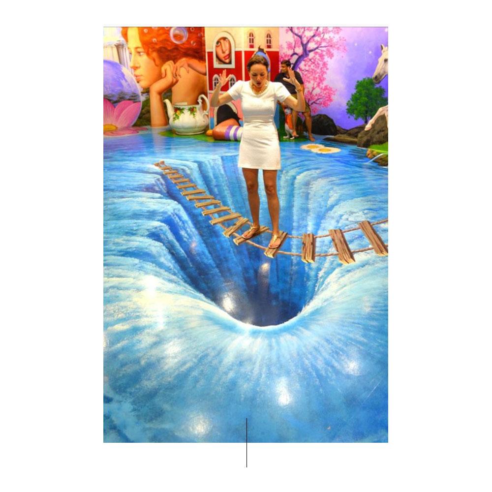 特麗愛3D美術館:您可以在這裡欣賞繪畫的一部分