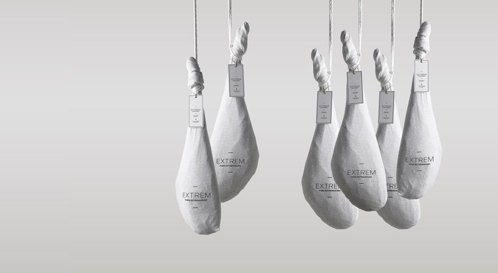 Iberische ham met eikelvis