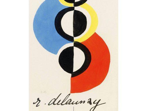 Ο R. Delaunay με τη σύζυγό του Sonia δημιούργησε το «simultaneismo».