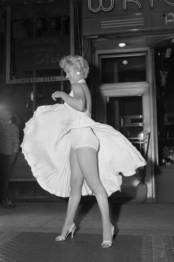Marilyn Monroe stilettos
