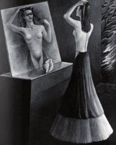 Retrato de Frida Kahlo por Aurora Reyes