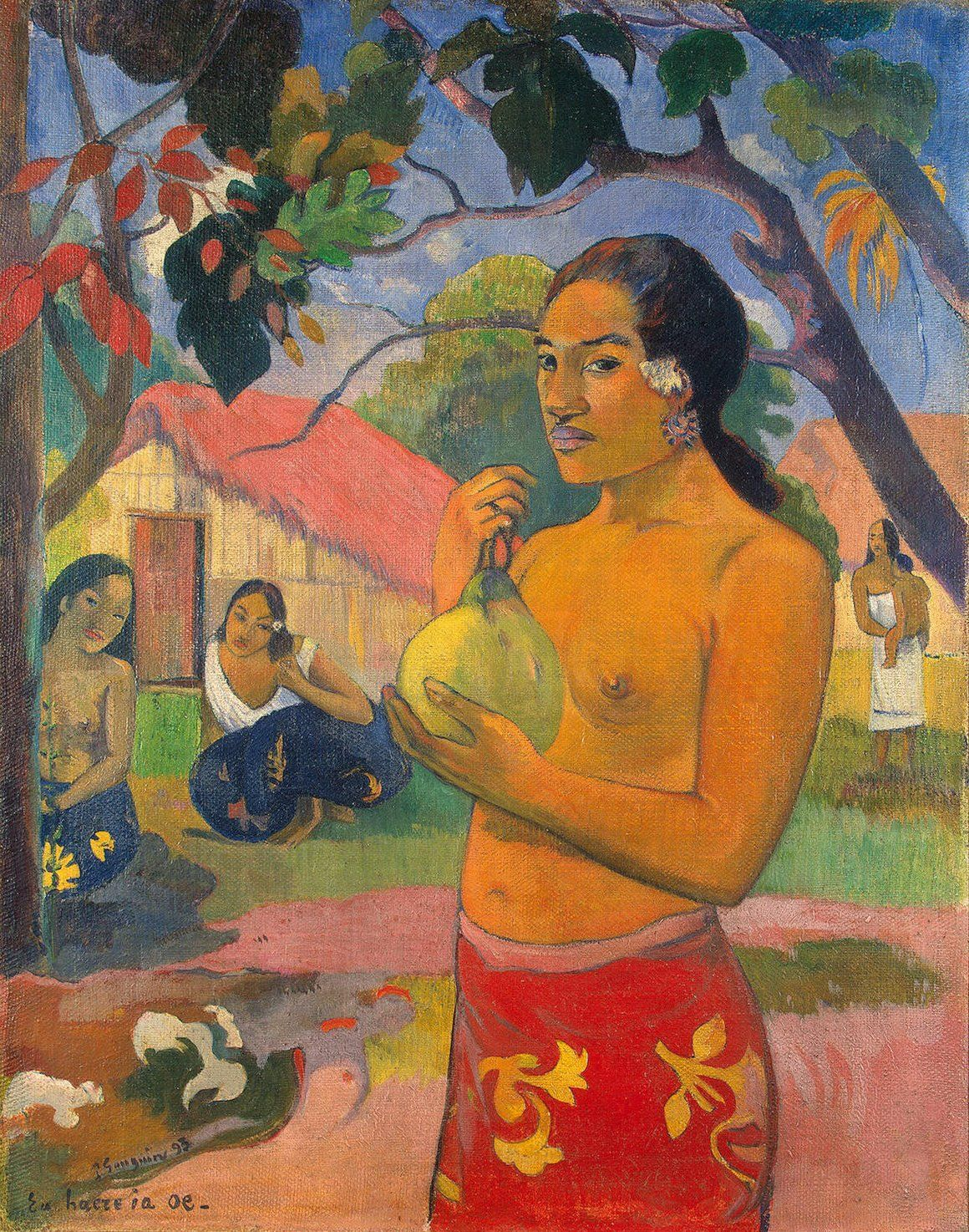 De foto van Gauguin