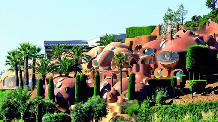 casa burbuja de Pierre Cardin