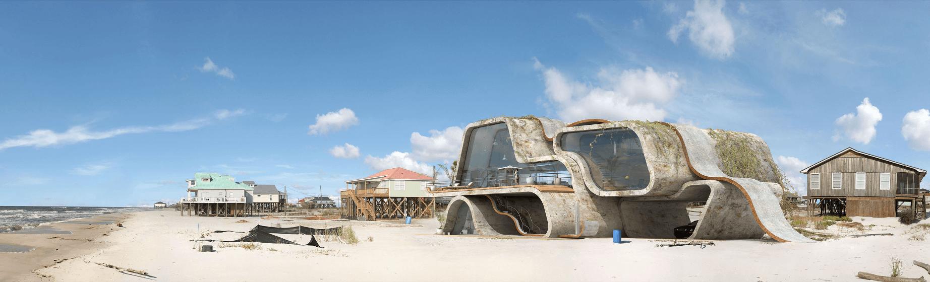 Progettare sulla spiaggia contro gli tsunami