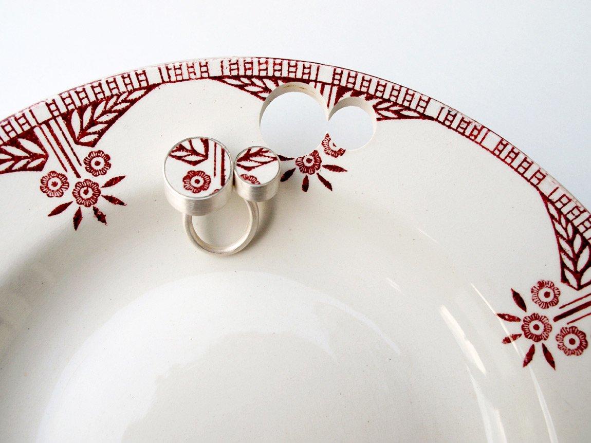 Aretes de cerámica