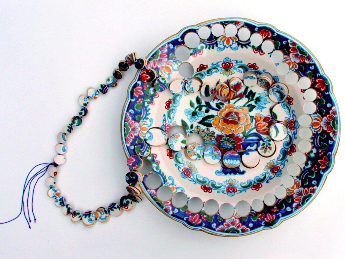 Collar de cerámica