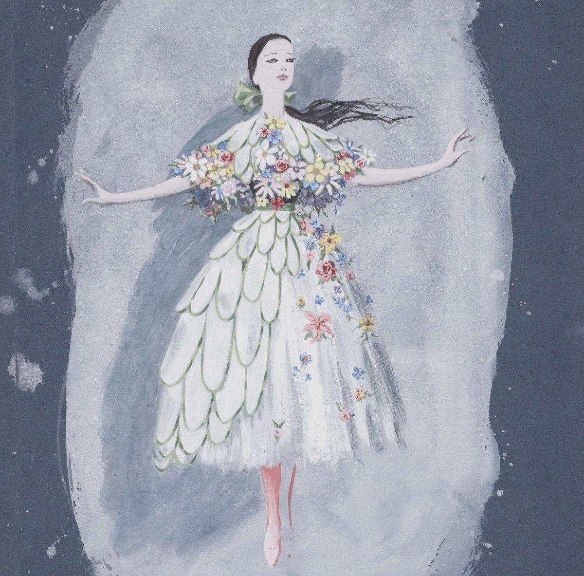 boceto para ballet
