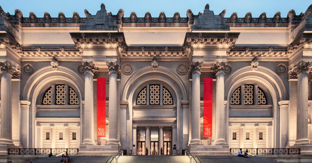 Entrada del Museo Metropolitano de Arte