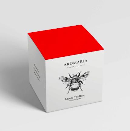 Caja con velas de Aromaria