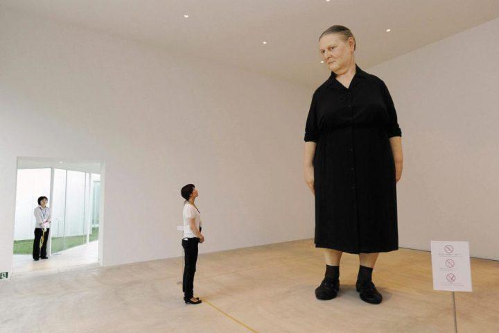 mujer gigante