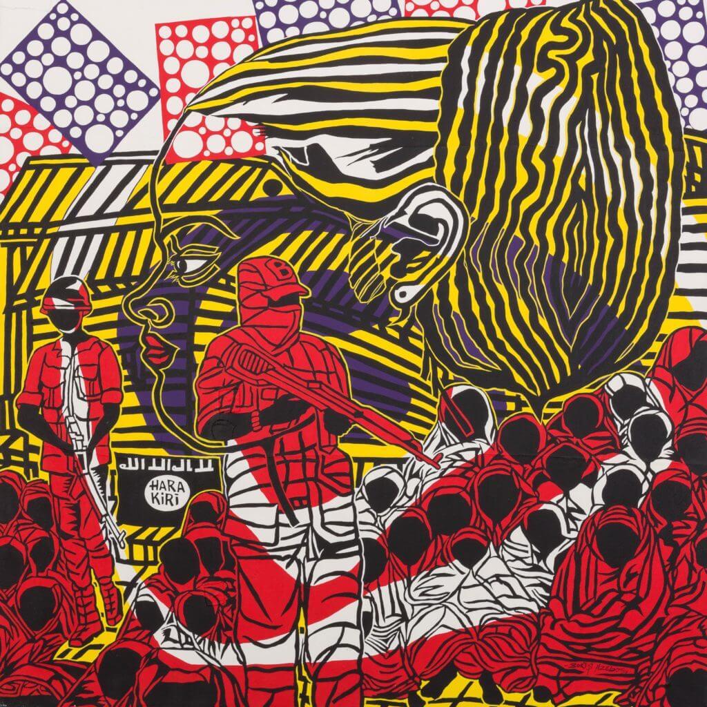 Opera di Boris Nzebo