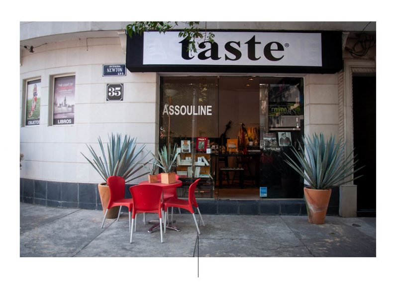 Facade of TASTE av Assouline