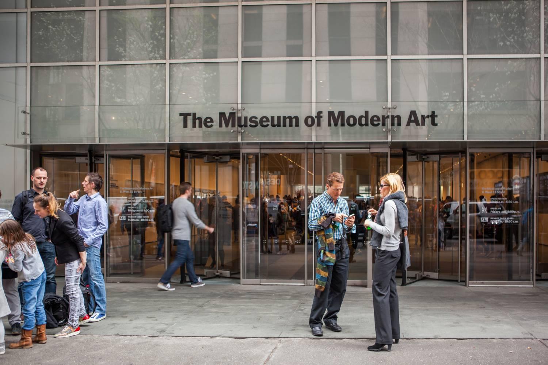 Entrada del MOMA