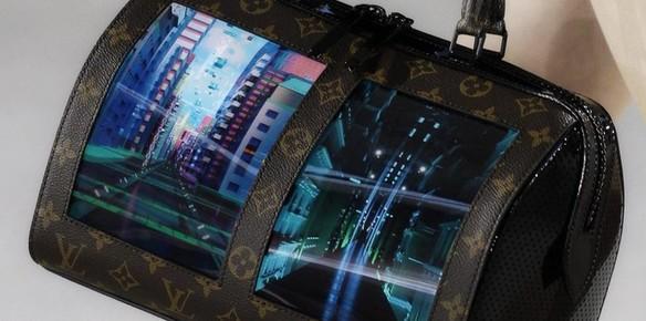 Louis Vuitton tilbehør med LED-skjerm