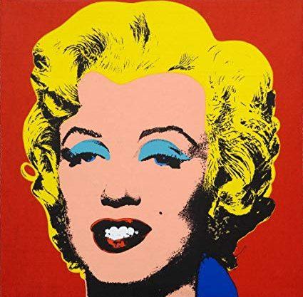 Obra Collage de Marilyn Monroe de Andy Warhol