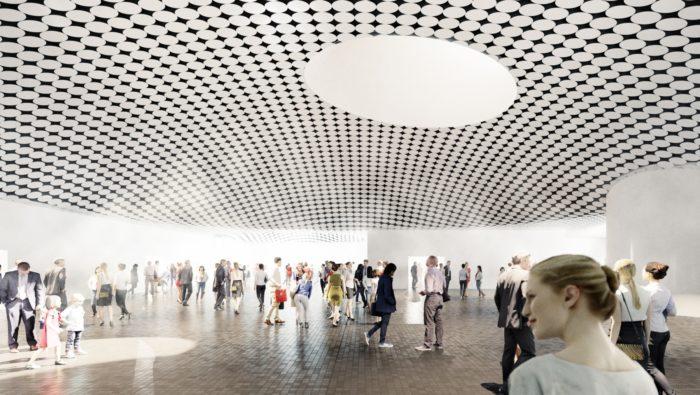 आमोस रेक्स संग्रहालय का आंतरिक दृश्य