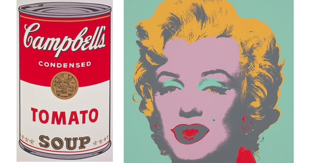 Έργα του Andy Warhol