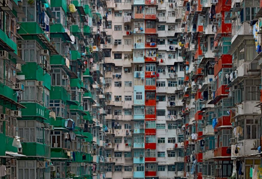 Fotografia de la serie Architecture of Density de Michael Wolf