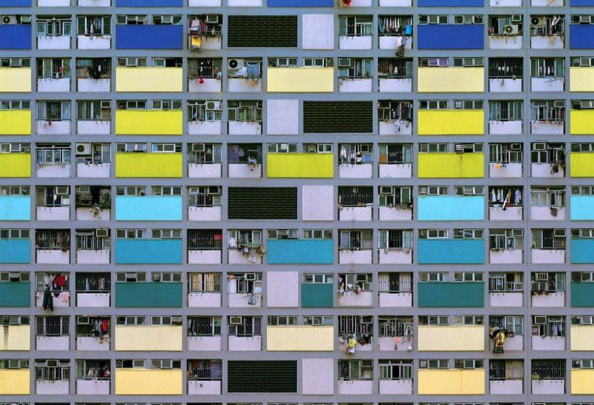 Bloques de colores en la fotografia de Michael Wolf
