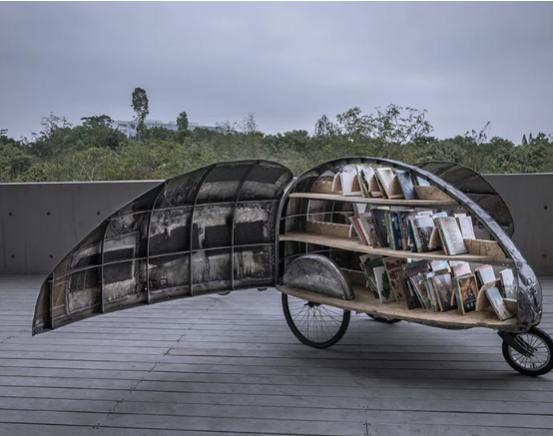 Biblioteca movil Lady Bird
